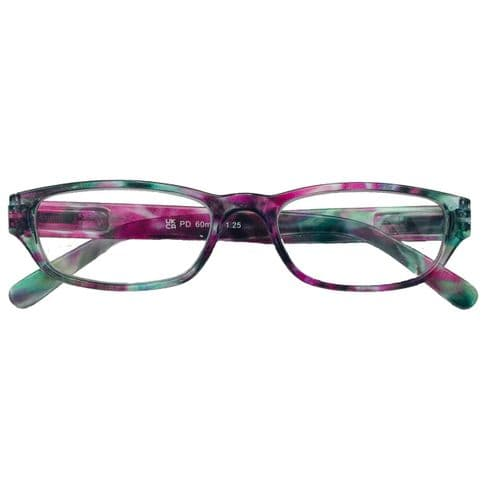 Reading Glasses In Tones of Misty Heather