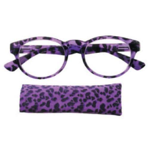 Reading Glasses Midnight Cheetah