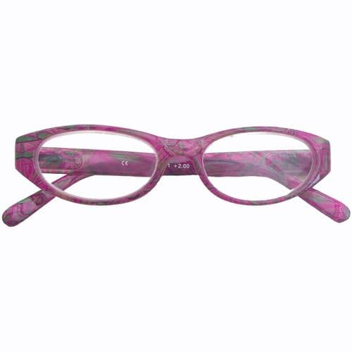 Reading Glasses Oriental Orchid