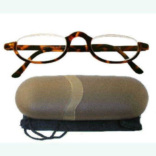 Reading Glasses Owl's Eye Tortoiseshell