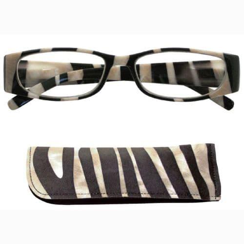 Reading Glasses Sahara Dawn Striking Zebra
