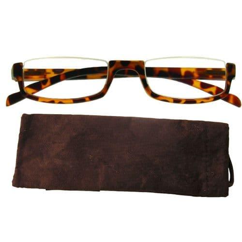 Reading Glasses Tortoiseshell Square Eyes