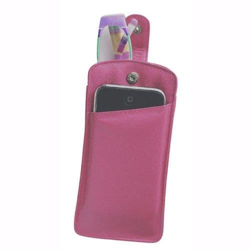 Side Pocket Leather Spec Cases