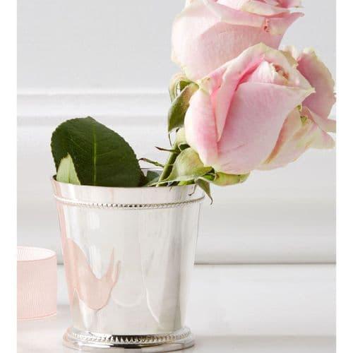 Silver Plated Mini Vase
