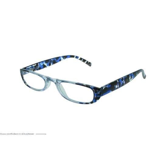 Slimline Reading Glasses Peppercorn Blue