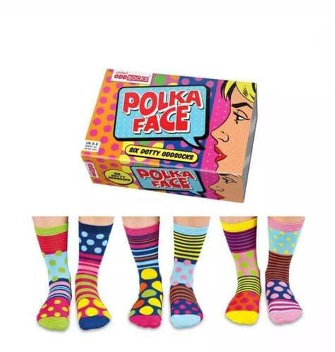 Sock Box Polka Face