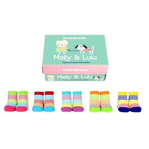 Sockbox For a NewbornBaby Girl