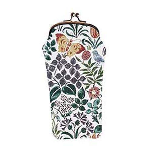 Tapestry  Glasses Case Spring Flowers