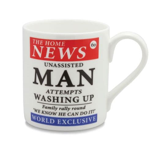 Washing Up Headline Mug