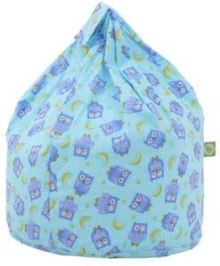 Kids Blue Owl Bean Bag
