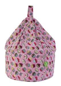 Kids Cupcake Bean Bag