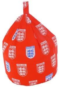 Kids England Red Bean Bag