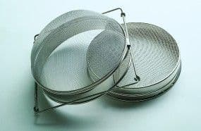 Stainless Steel double strainer/ filter