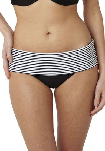 Anya Stripe Fold Bikini Brief