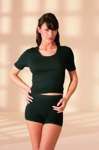 Natural Fibre Thermal T-Shirt with Angora