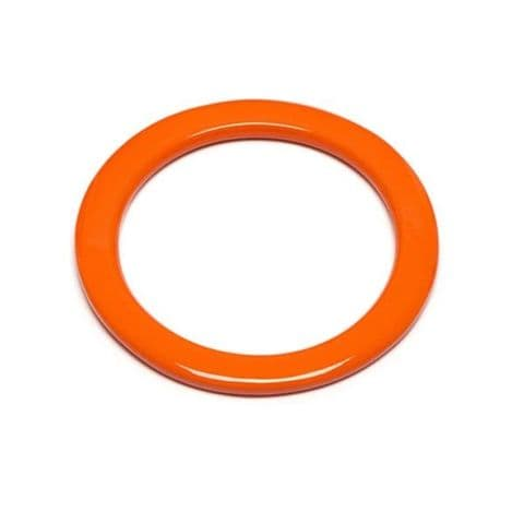 Branch Jewellery Orange Lacquered Buffalo Horn Bangle