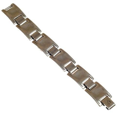 Ciclon Chunky Silver Link Bracelet