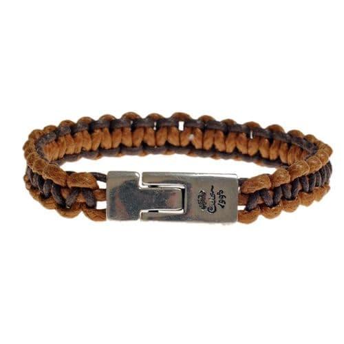 Ciclon Cord Bracelet in Tan