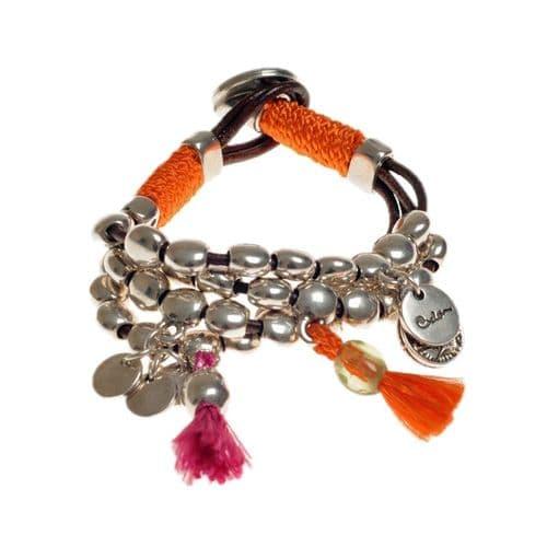 Ciclon Festival Bracelet in Orange