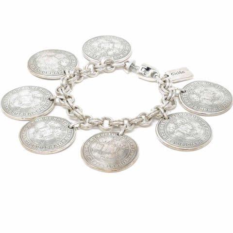 Ciclon Jewellery Replica Coin Bracelet