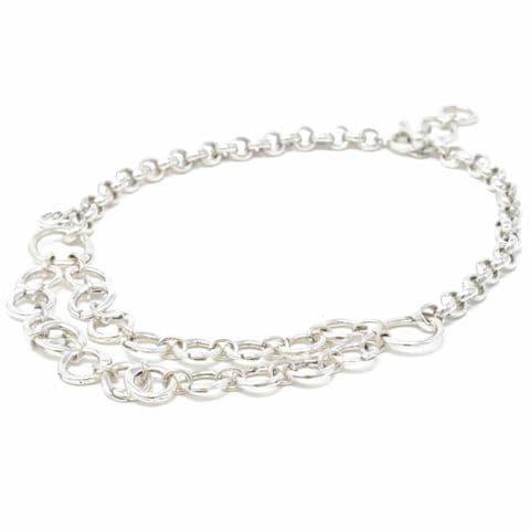 Ciclon Jewellery Short Multi Circle Statement Necklace