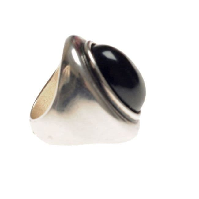 Ciclon Ring with black resin feature UK stockist