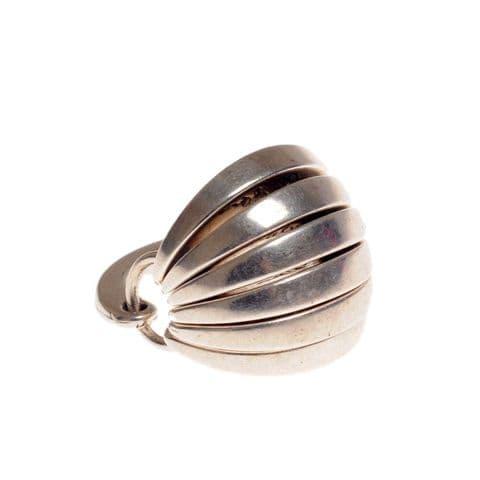 Ciclon Silver Segment Ring