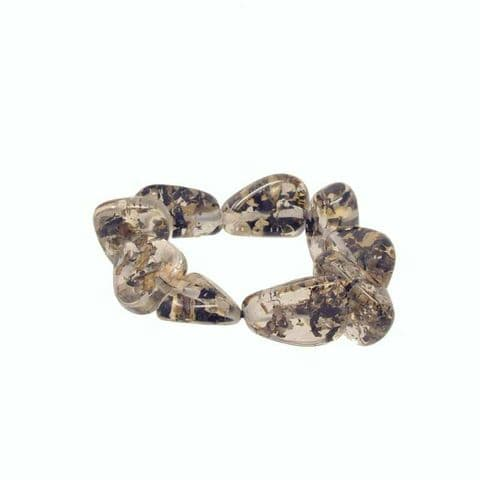 Jackie Brazil Flintstone Bone Bracelet in Seaweed