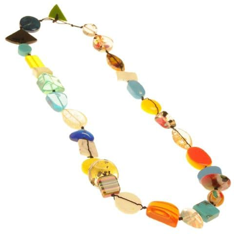 Jackie Brazil Indiana long necklace in Mix Colours