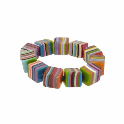 Jackie Brazil Liquorice Small Cubes in Mix Colours