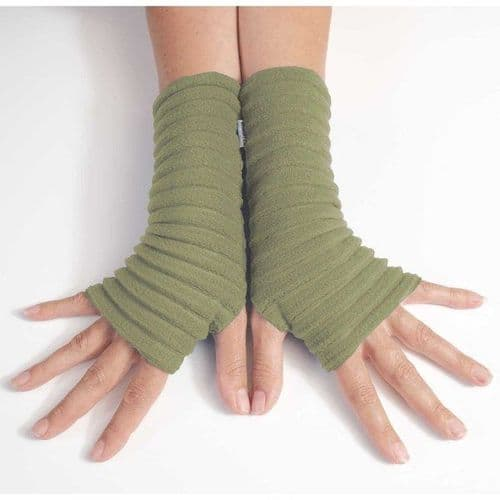 Wristees Super Soft Wrist Warmers in Avocado