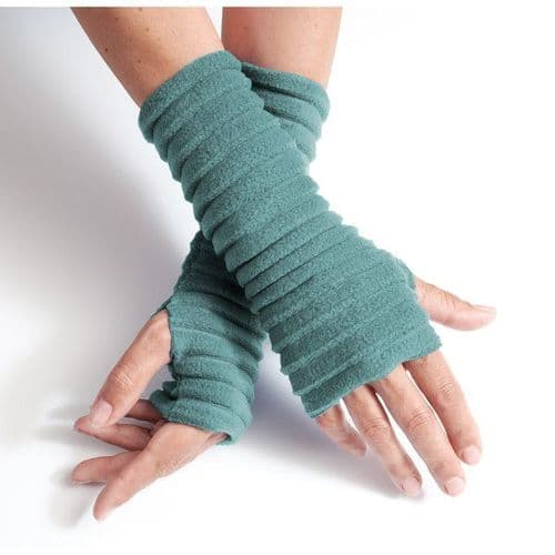 Wristees Super Soft Wrist Warmers in Duck Egg