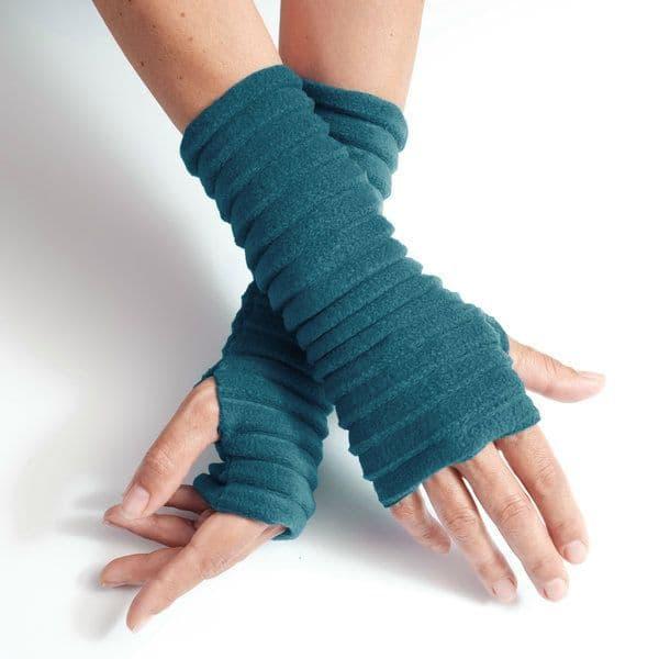 Wristees Wrist Warmers in Teal