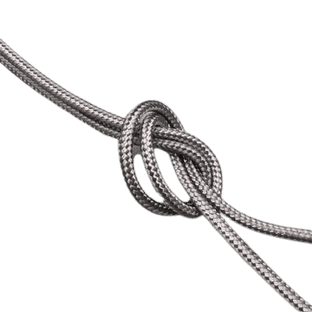 1.4 mm Grey cord (sold by the metre)