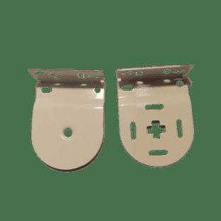 32mm Louvolite White Roller Brackets only
