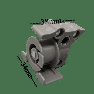 35mm Tilter - 5.6mm Hexagonal Hole. Soldin multiples of 1.