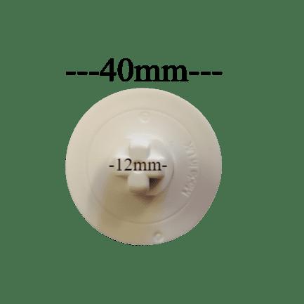 40mm Roller blind mechanism. Louvolite Idle end ONLY.