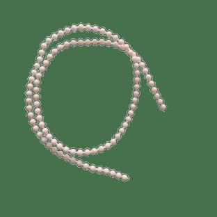 Full 300m roll of Number 6 Plastic Chain, ball size 3.2mm diameter ball