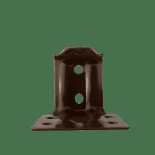 Individual Dark Brown Metal  Support bracket for 25mm Venetian Blinds BracketSoldin multiples of 1.