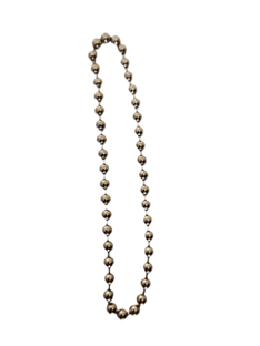 NON-RUST METAL Continuous Loop chain (No 10, 4.5mm BALL chain ) Made to Measure
