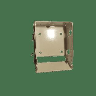 Pair of Box  brackets for 50mm wood venetian blinds,  WHITE