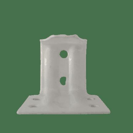 WHITE metal  Support bracket for 25mm Venetian Blinds Bracket. Sold in Multiples of 1.