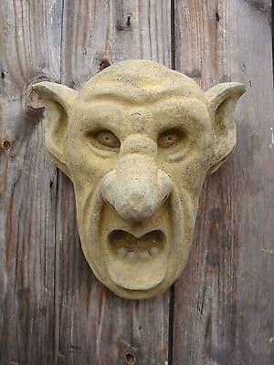 'Big Ears' Oxford Gargoyle Grotesque wall plaque