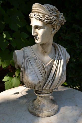 'Diana' Roman goddess bust statue