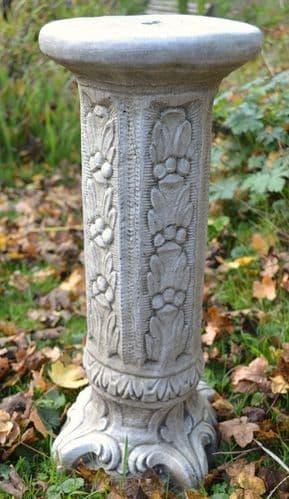 'Floral' Small Column Plinth