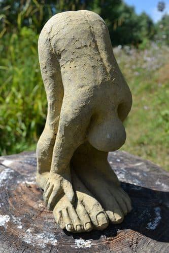 Bending Nude abstract home or garden ornament