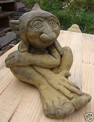 Big Nose troll goblin statue