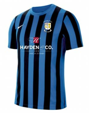 Athlone Nike Dri-FIT Division 4 Jersey Blue and Black Youth