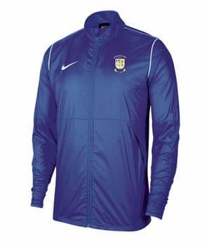 Athlone Town FC Nike Park 20 Rainjacket Youth Royal Blue/White 2020
