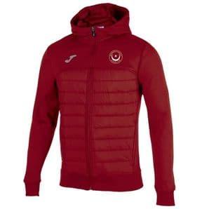 Drogheda & District Athletic Club Joma Berna Hoodie Windbreaker Red Adults 2020